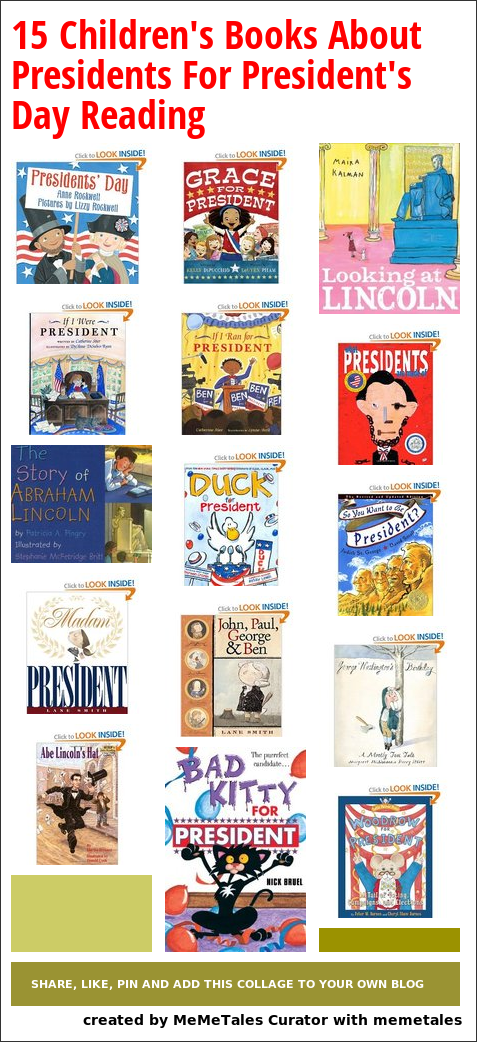 15 Children's Books About Presidents – for President's Day reading